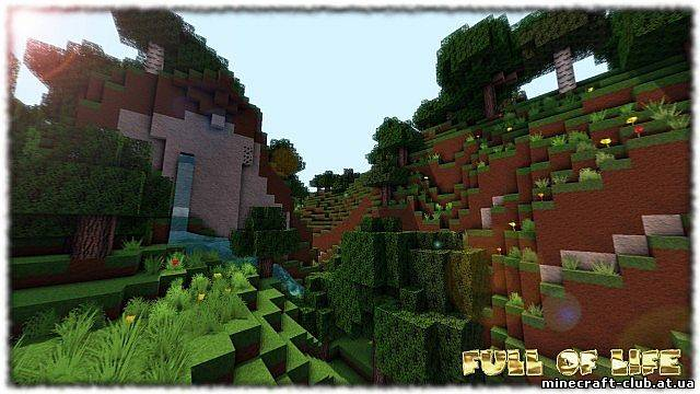 Текстурпак Full of Life Texture Pack